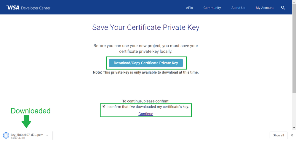 20190916 Downloaded Cert Private Key.png