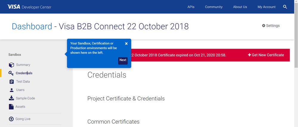 20201228Sanbox Expired Credentials.png