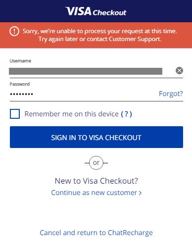 visacheckout login not working.png