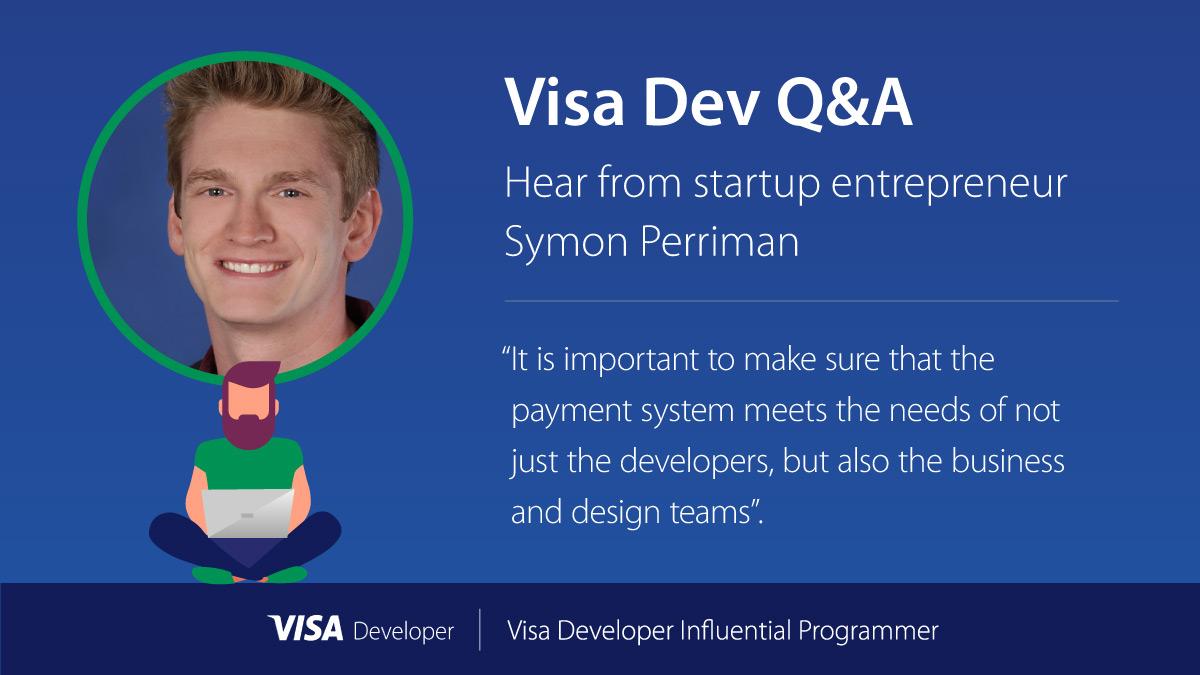 Supporting Charities using Visa APIs: Meet Symon P    - Visa